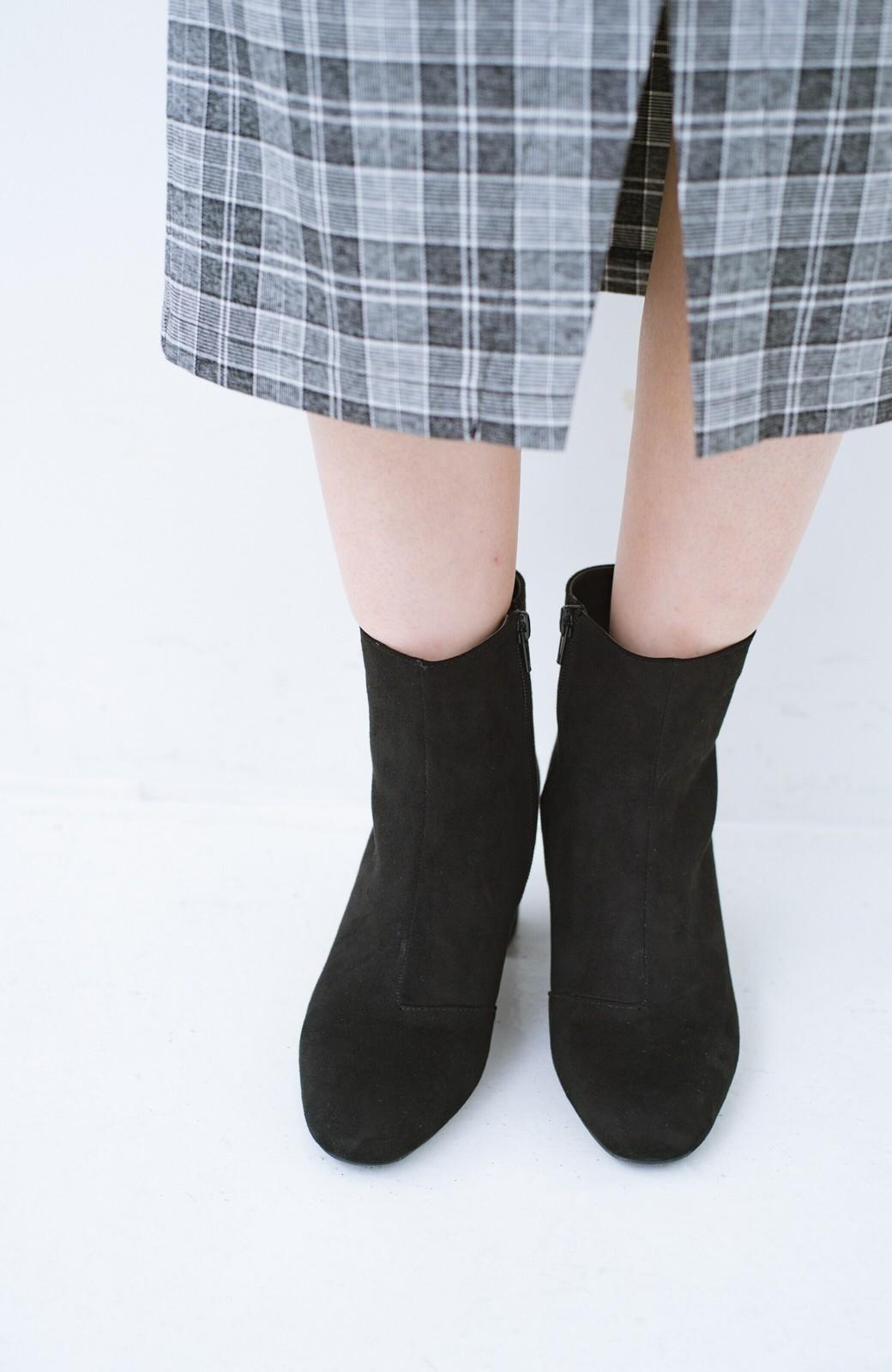 haco! パッと履いてスッときれいな女っぽブーツ <ブラック>の商品写真3