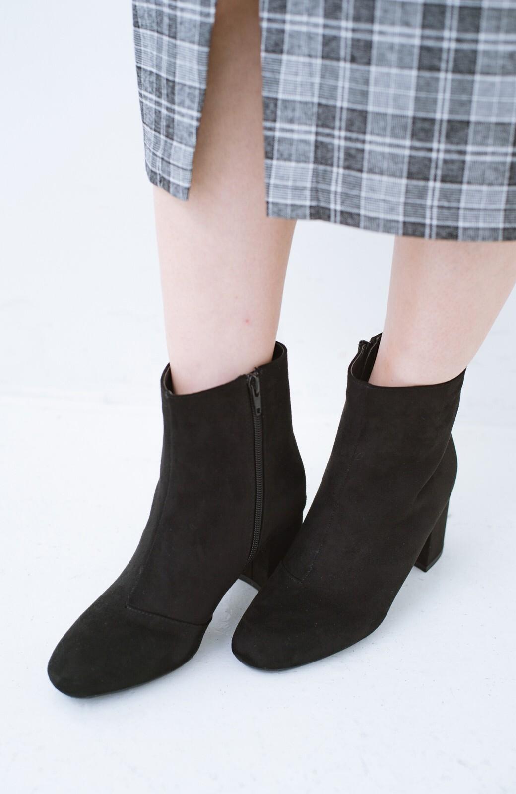 haco! パッと履いてスッときれいな女っぽブーツ <ブラック>の商品写真4