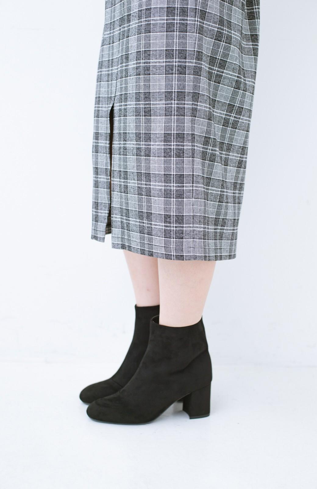 haco! パッと履いてスッときれいな女っぽブーツ <ブラック>の商品写真5