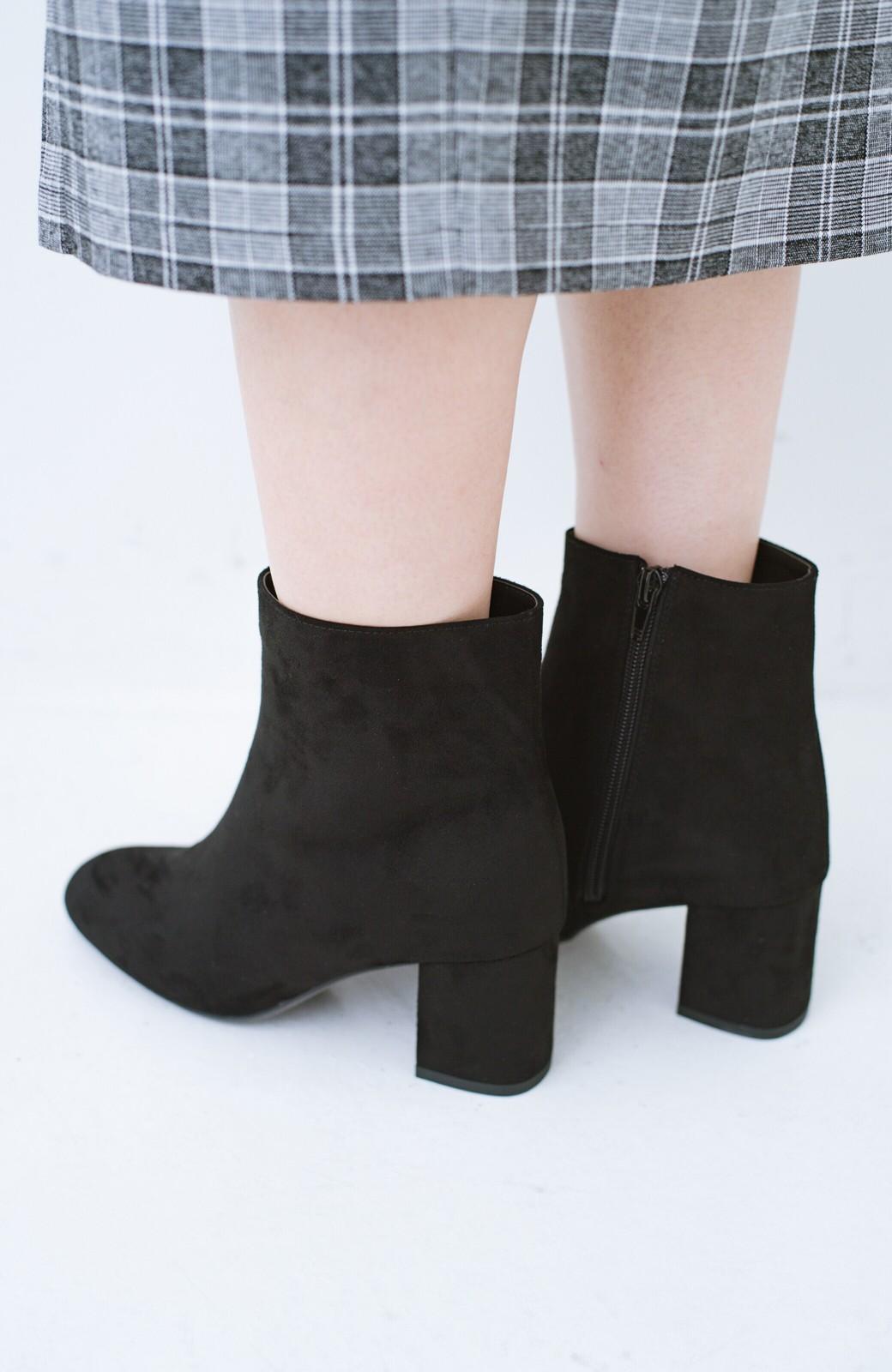 haco! パッと履いてスッときれいな女っぽブーツ <ブラック>の商品写真6