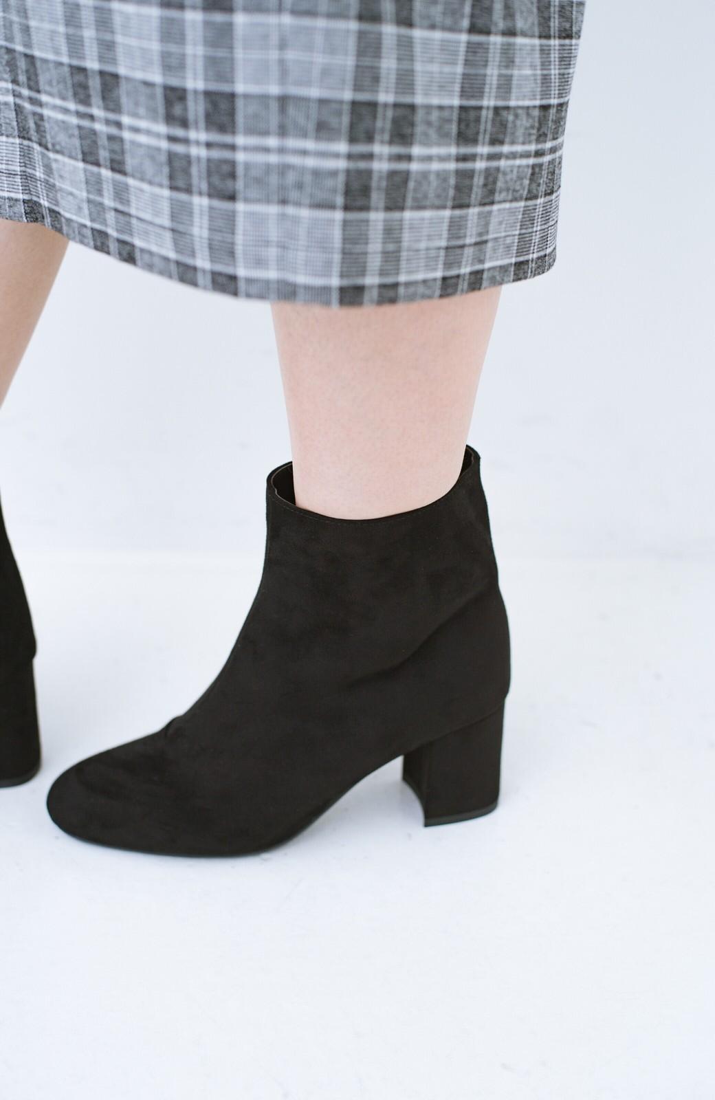 haco! パッと履いてスッときれいな女っぽブーツ <ブラック>の商品写真7