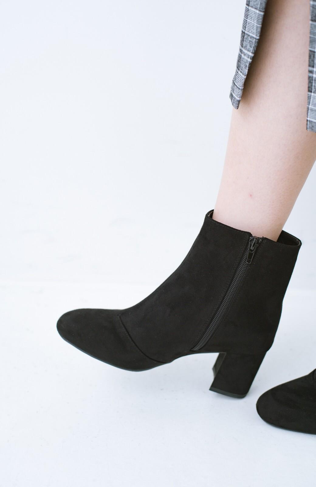 haco! パッと履いてスッときれいな女っぽブーツ <ブラック>の商品写真8
