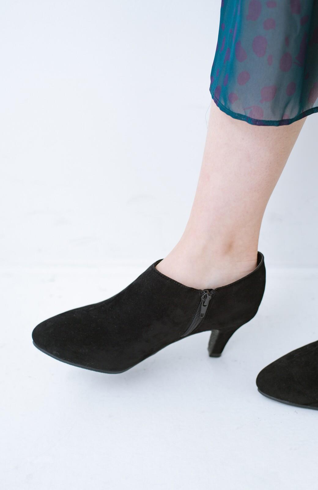 haco! パンツにもスカートにも便利な女っぽブーティー <ブラック>の商品写真11