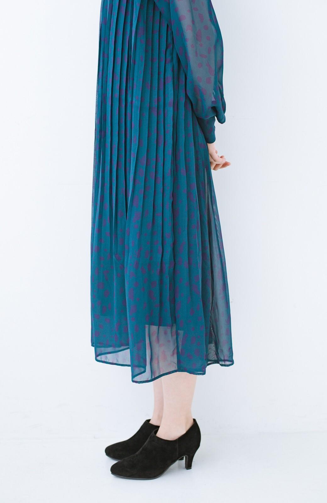 haco! パンツにもスカートにも便利な女っぽブーティー <ブラック>の商品写真6