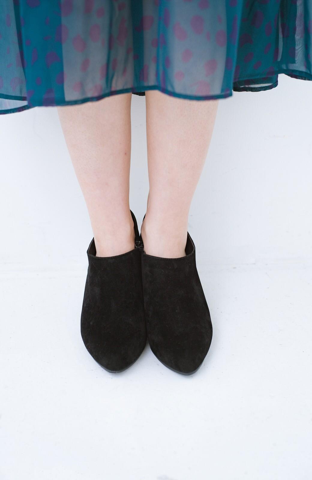 haco! パンツにもスカートにも便利な女っぽブーティー <ブラック>の商品写真7