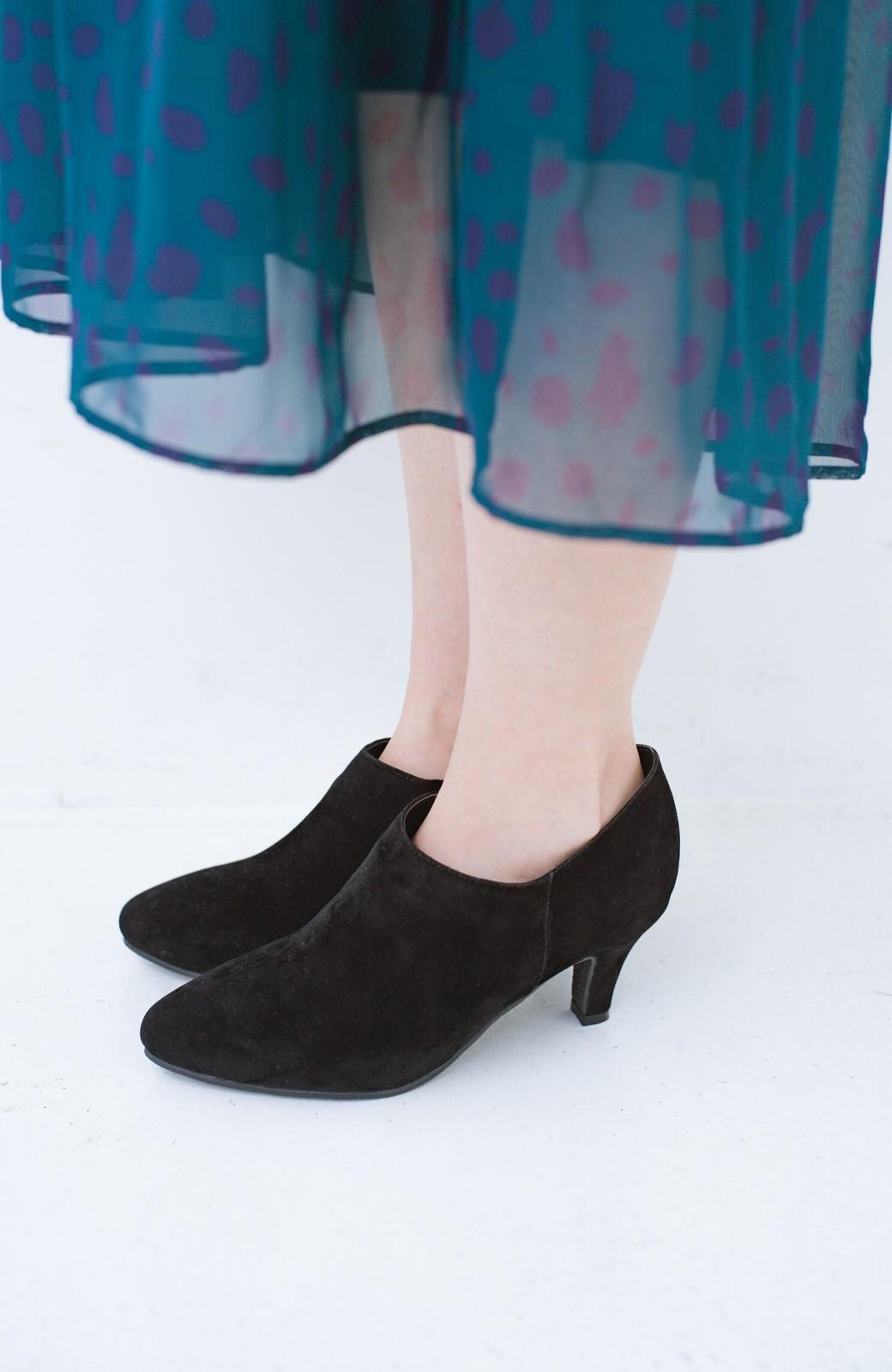 haco! パンツにもスカートにも便利な女っぽブーティー <ブラック>の商品写真8