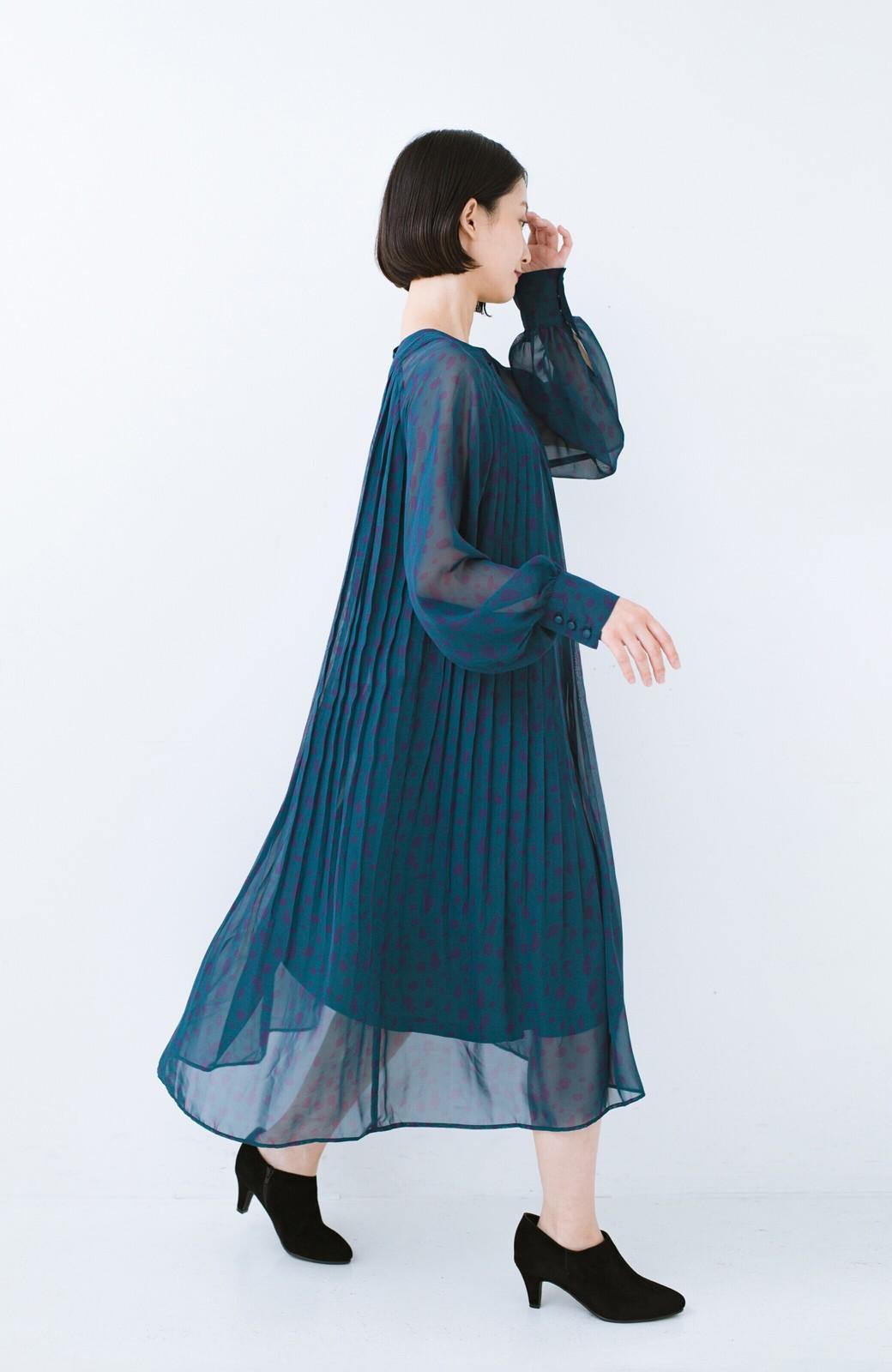 haco! パンツにもスカートにも便利な女っぽブーティー <ブラック>の商品写真13