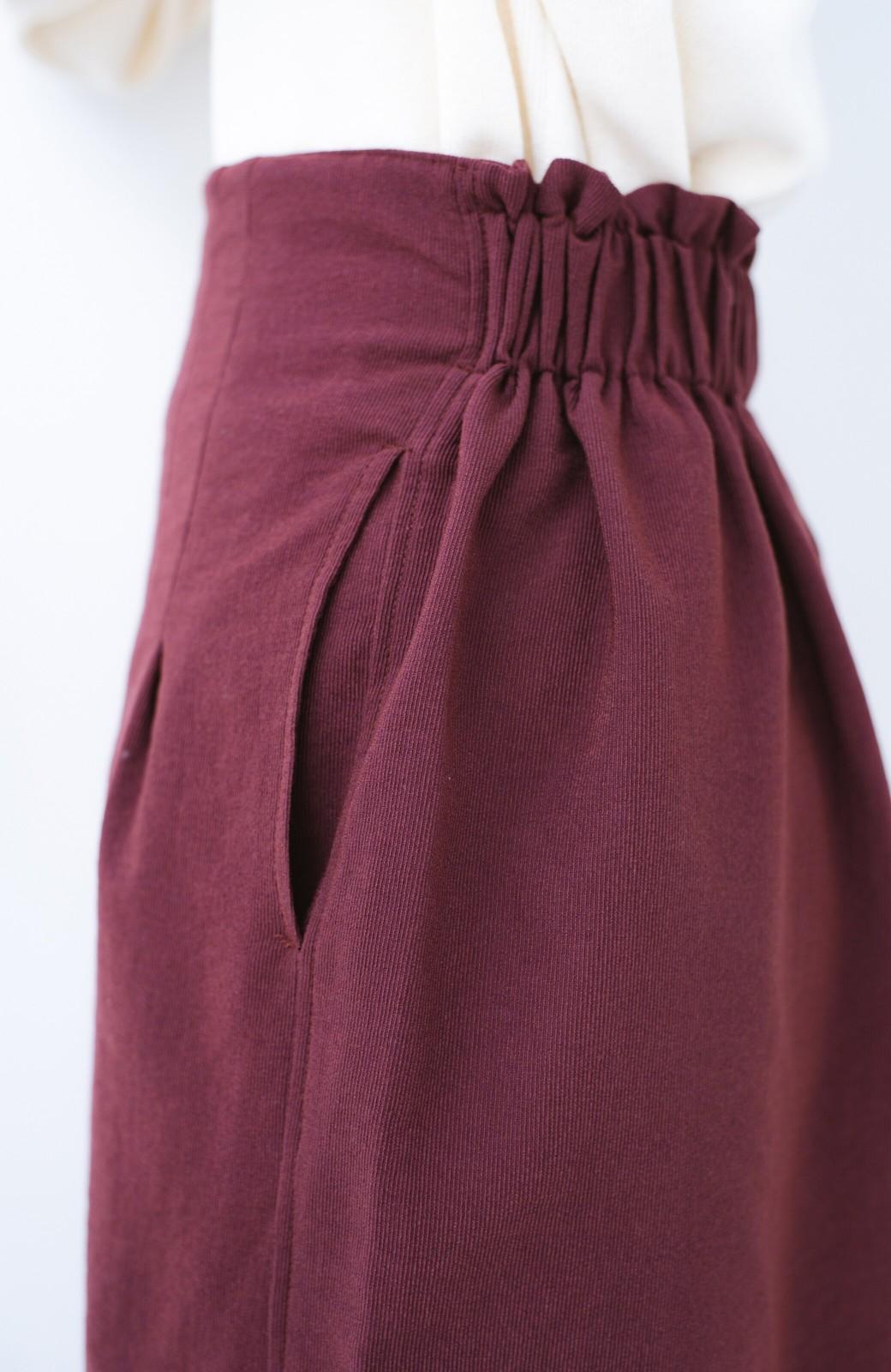 haco!  腹巻きとは呼ばせない ブルー期も華やかに過ごせる消臭加工裏地付きフリルデザインスカートセット【ブルー期】女の子バンザイ!プロジェクト <ボルドー>の商品写真17