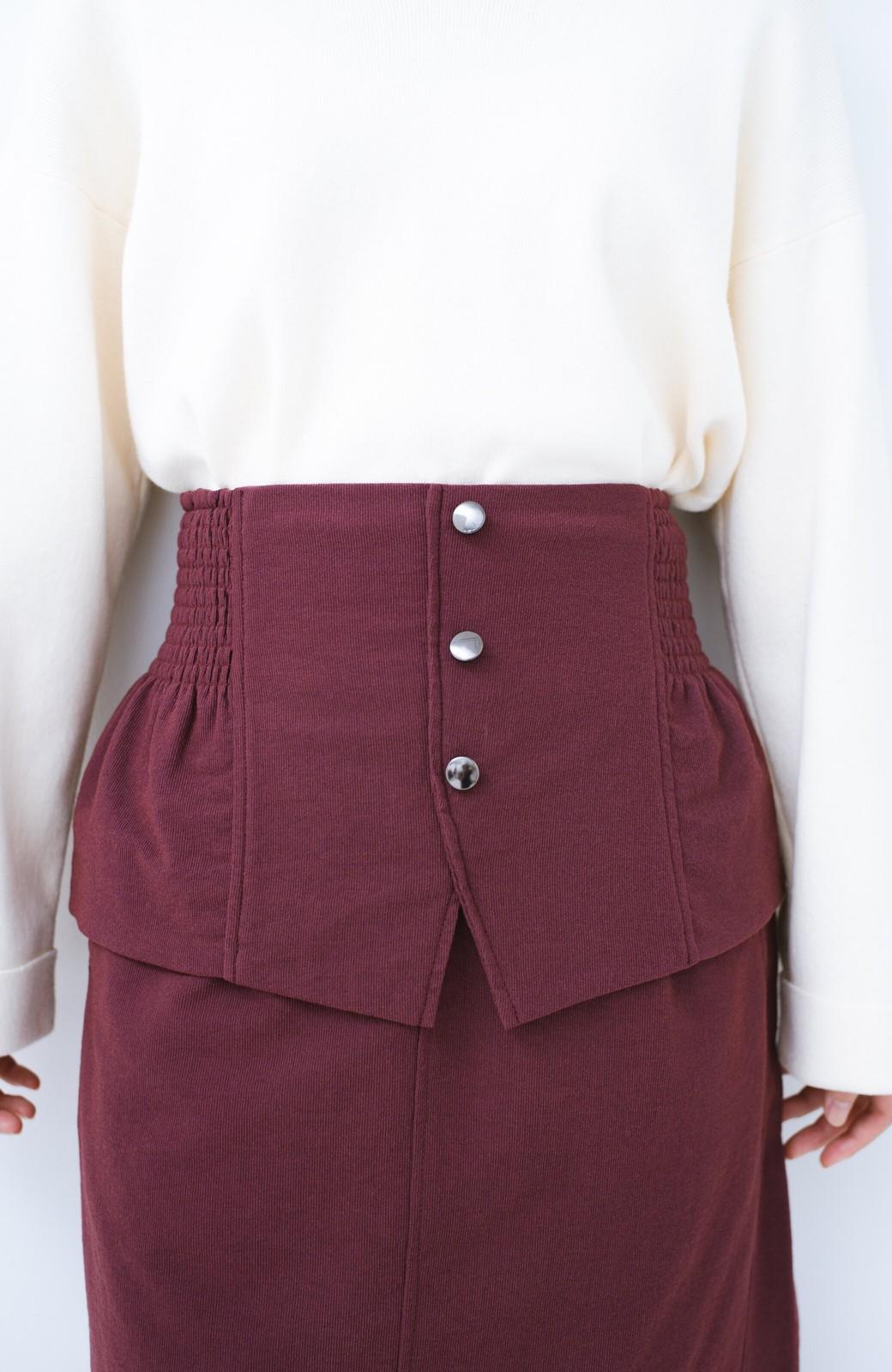 haco!  腹巻きとは呼ばせない ブルー期も華やかに過ごせる消臭加工裏地付きフリルデザインスカートセット【ブルー期】女の子バンザイ!プロジェクト <ボルドー>の商品写真8