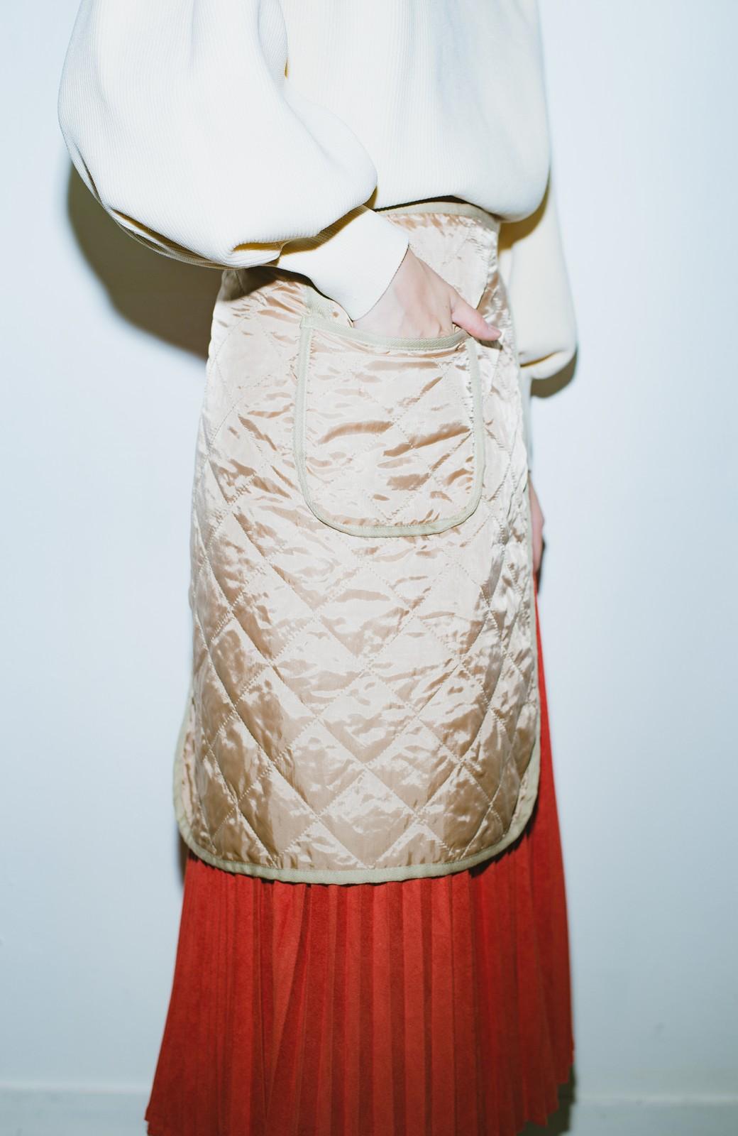 haco! haco! × RBTXCO  着回したっくさん!エプロン風巻きスカート <オレンジ系その他>の商品写真4