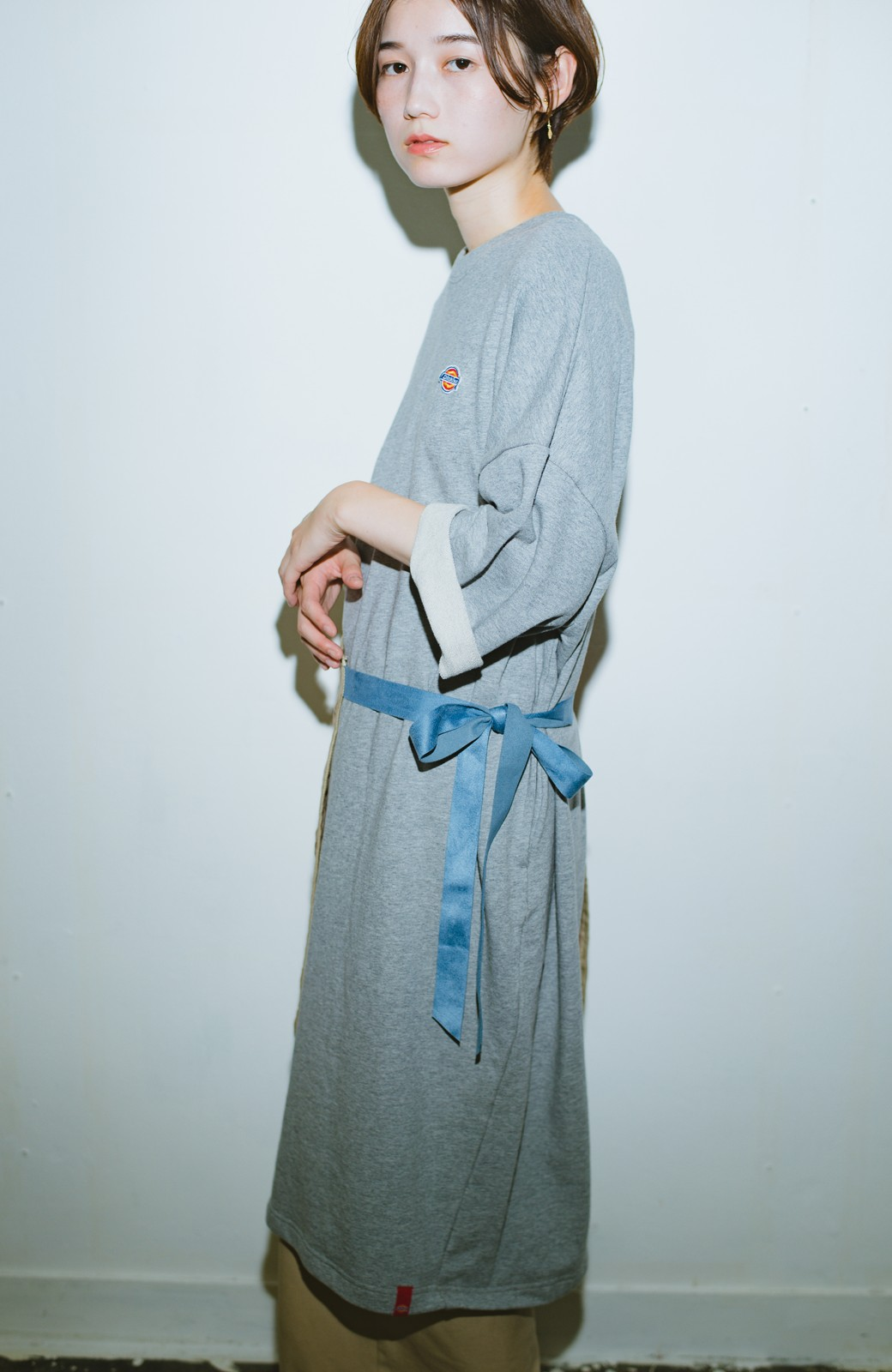 haco! haco! × RBTXCO  着回したっくさん!エプロン風巻きスカート <オレンジ系その他>の商品写真12