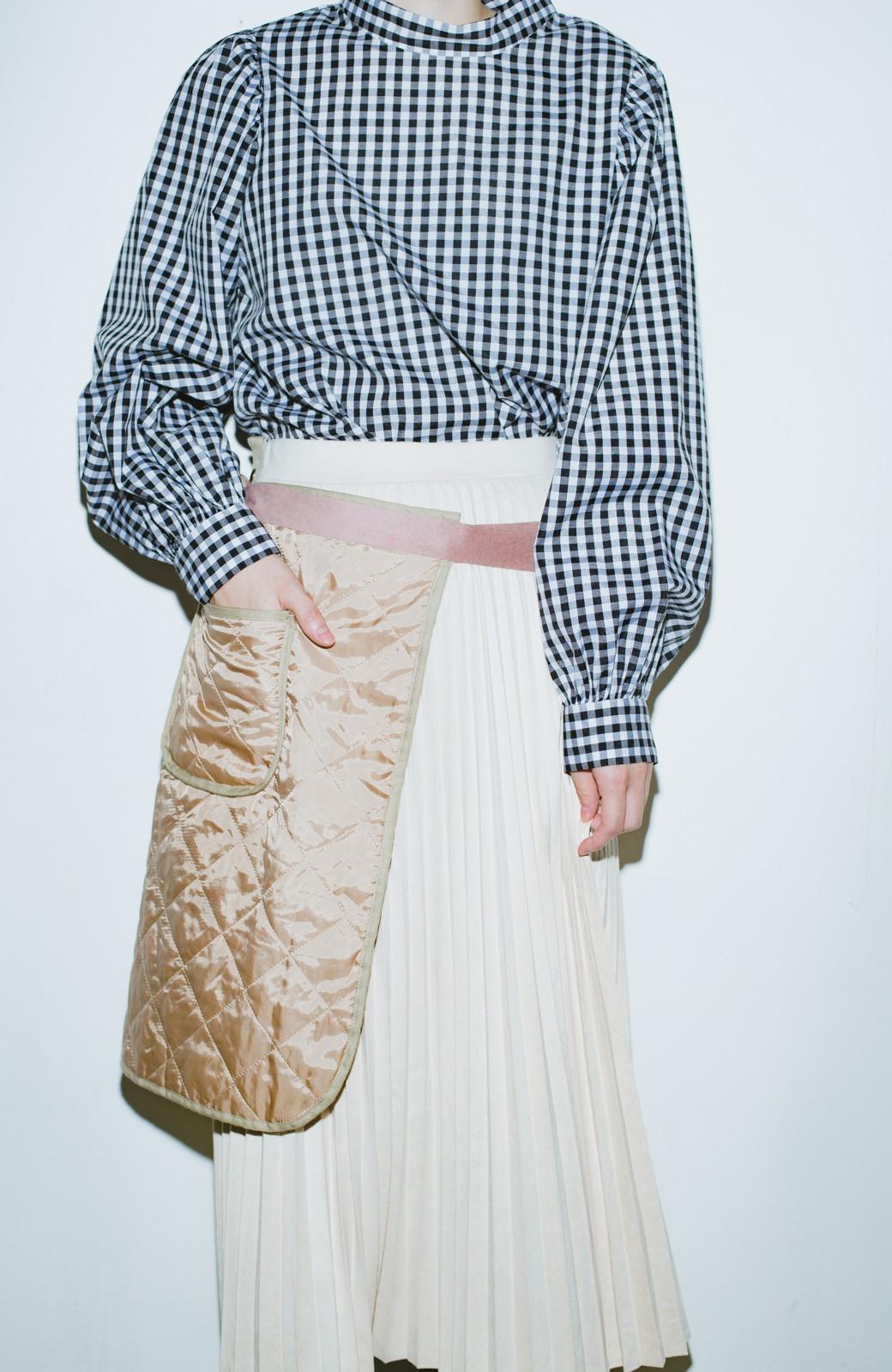 haco! haco! × RBTXCO  着回したっくさん!エプロン風巻きスカート <ライトベージュ>の商品写真2