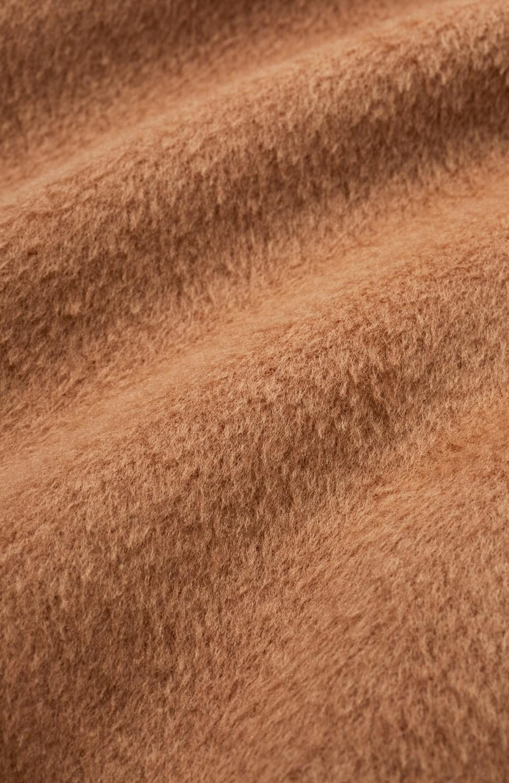 haco! 女っぽくもかっこよくも着られる ウエストベルト付きロングコート <キャメル>の商品写真2