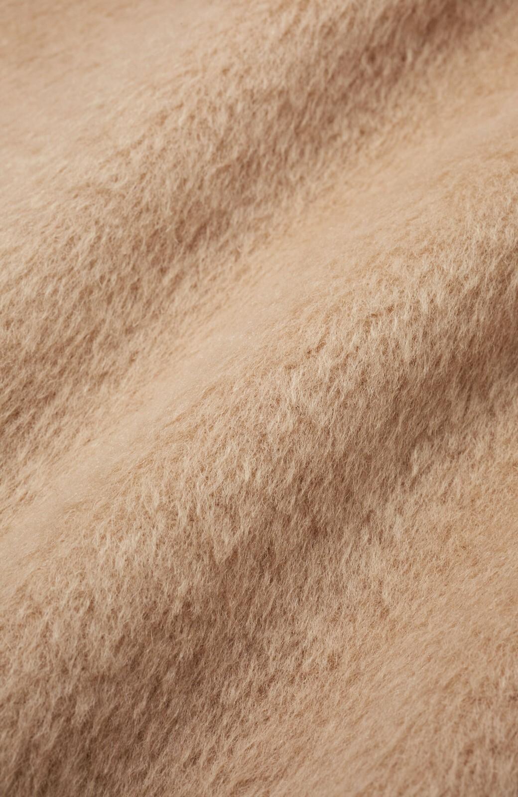 haco! パッと羽織るだけであったか&オシャレに女っぽが叶う よくばり女子のためのロングコート <ベージュ>の商品写真3