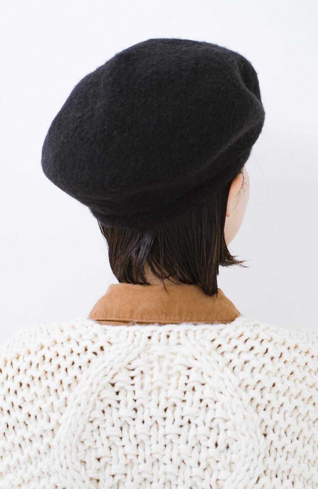 haco! odds ビッグベレー帽 <ブラック>の商品写真4
