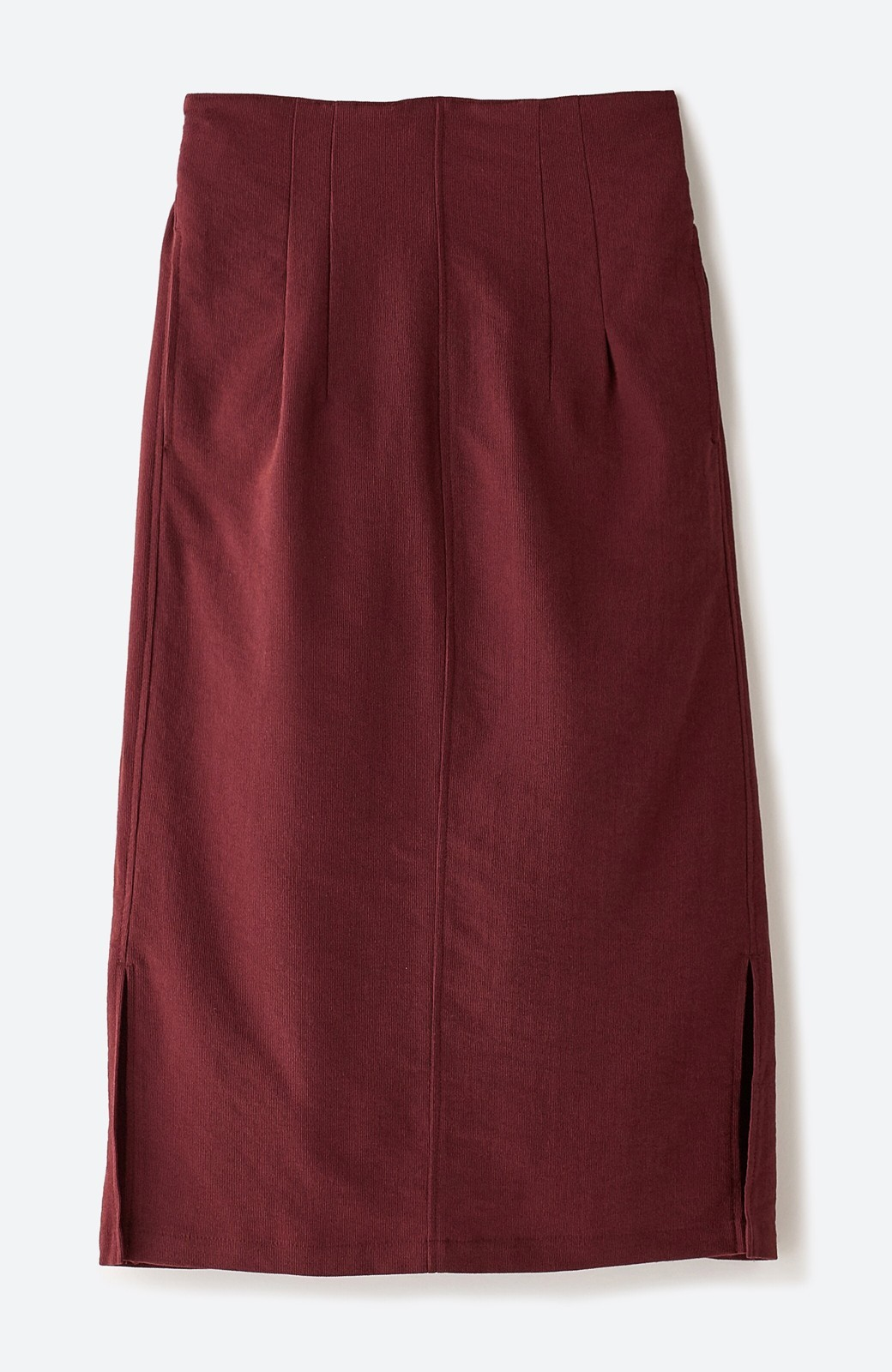haco!  腹巻きとは呼ばせない ブルー期も華やかに過ごせる消臭加工裏地付きフリルデザインスカートセット【ブルー期】女の子バンザイ!プロジェクト <ボルドー>の商品写真4