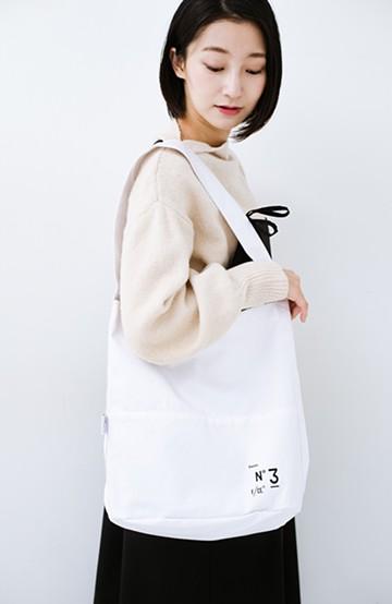 haco! F/CE.(エフシーイー) No.3 BAGUETTE TOTE <ホワイト>の商品写真