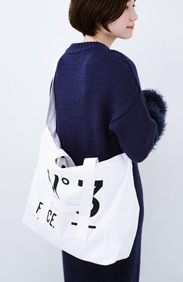 haco! F/CE.(エフシーイー) No.3 BOAT&TOTE BAG <ホワイト>の商品写真