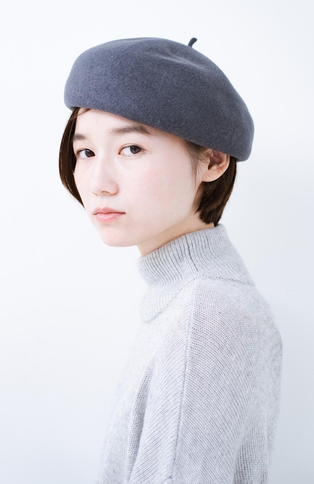 haco! バスクベレー帽 <グレー>の商品写真3