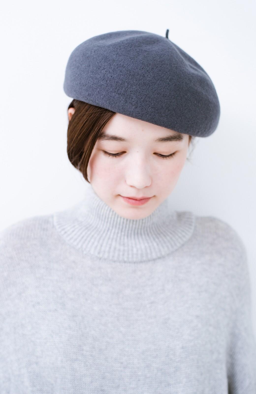 haco! バスクベレー帽 <グレー>の商品写真2