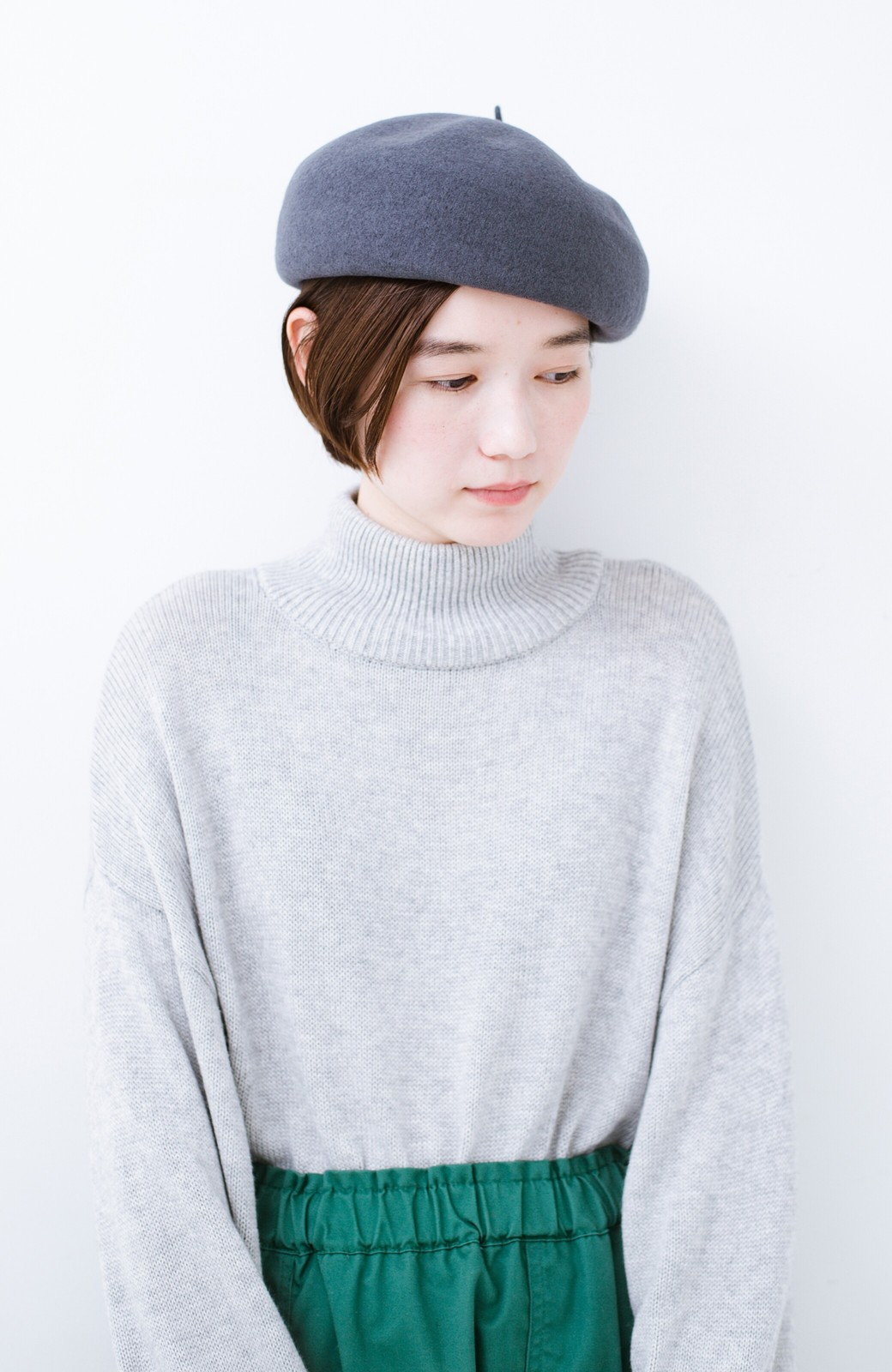 haco! バスクベレー帽 <グレー>の商品写真1