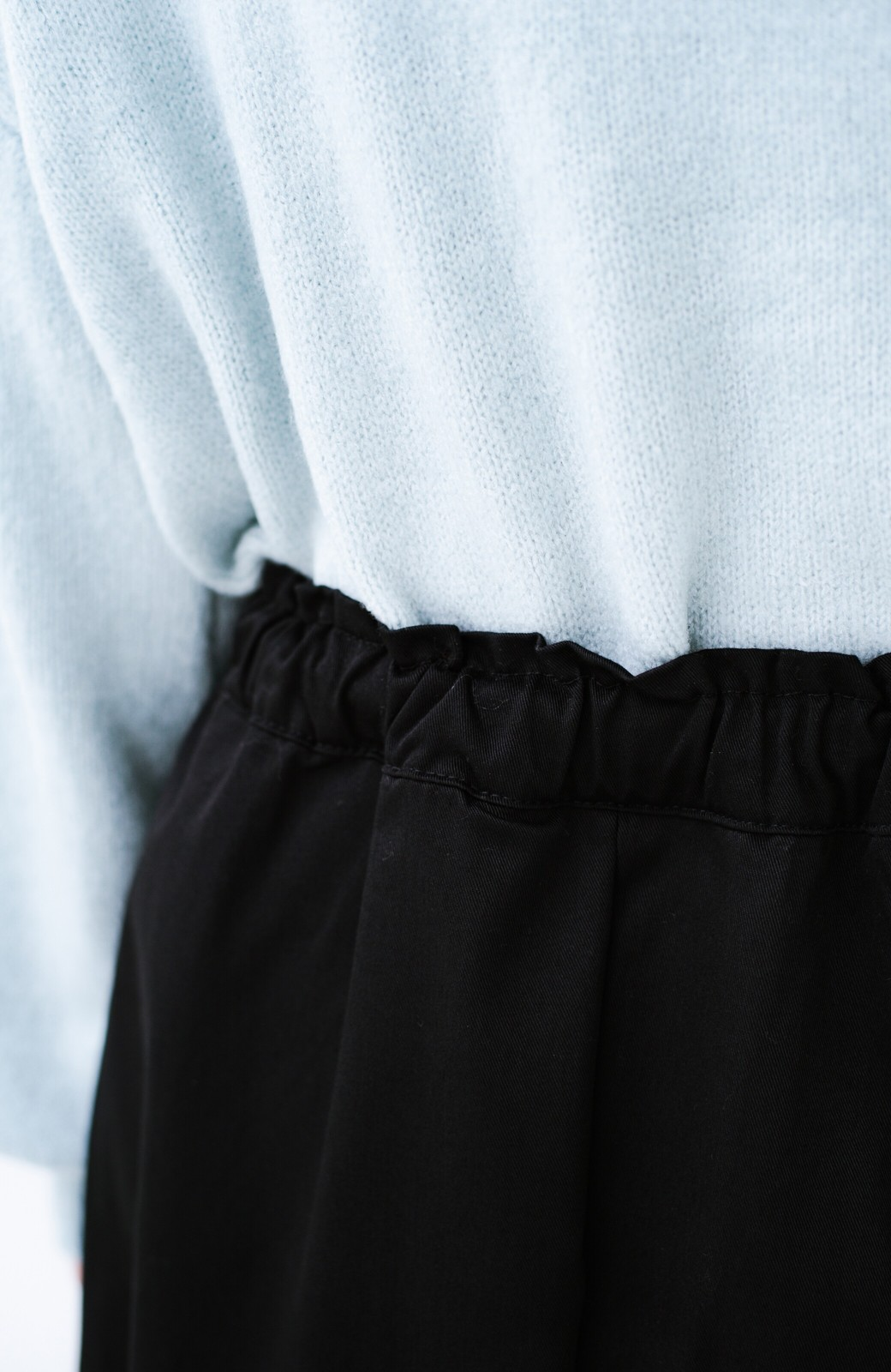 haco! Dickies TCツイル後ろインバーテッドスカート <ブラック>の商品写真6
