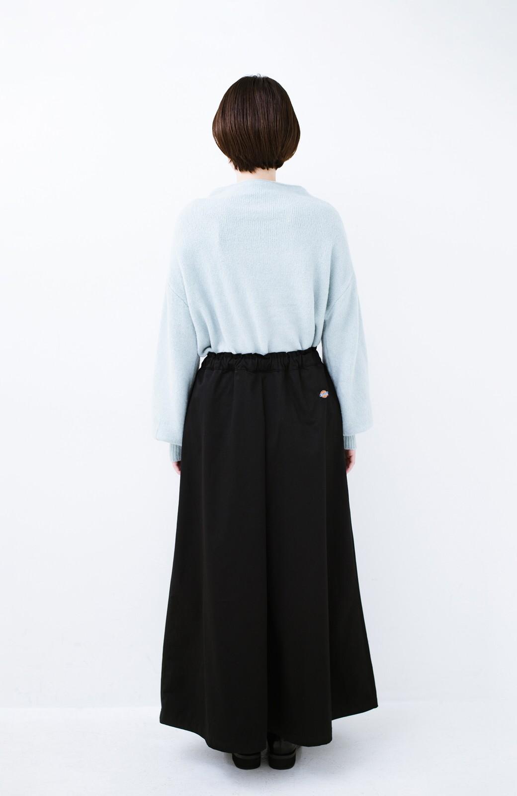 haco! Dickies TCツイル後ろインバーテッドスカート <ブラック>の商品写真12