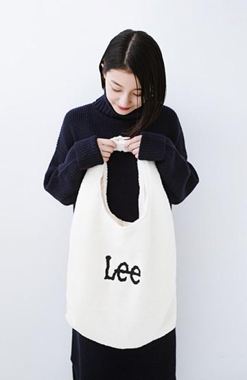 haco! Lady Lee ボアコンビニバッグ <ホワイト>の商品写真