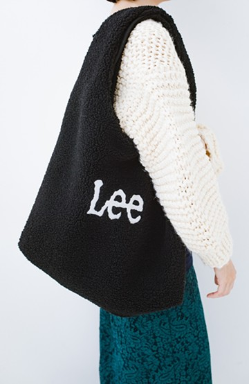 haco! Lady Lee ボアコンビニバッグ <ブラック>の商品写真