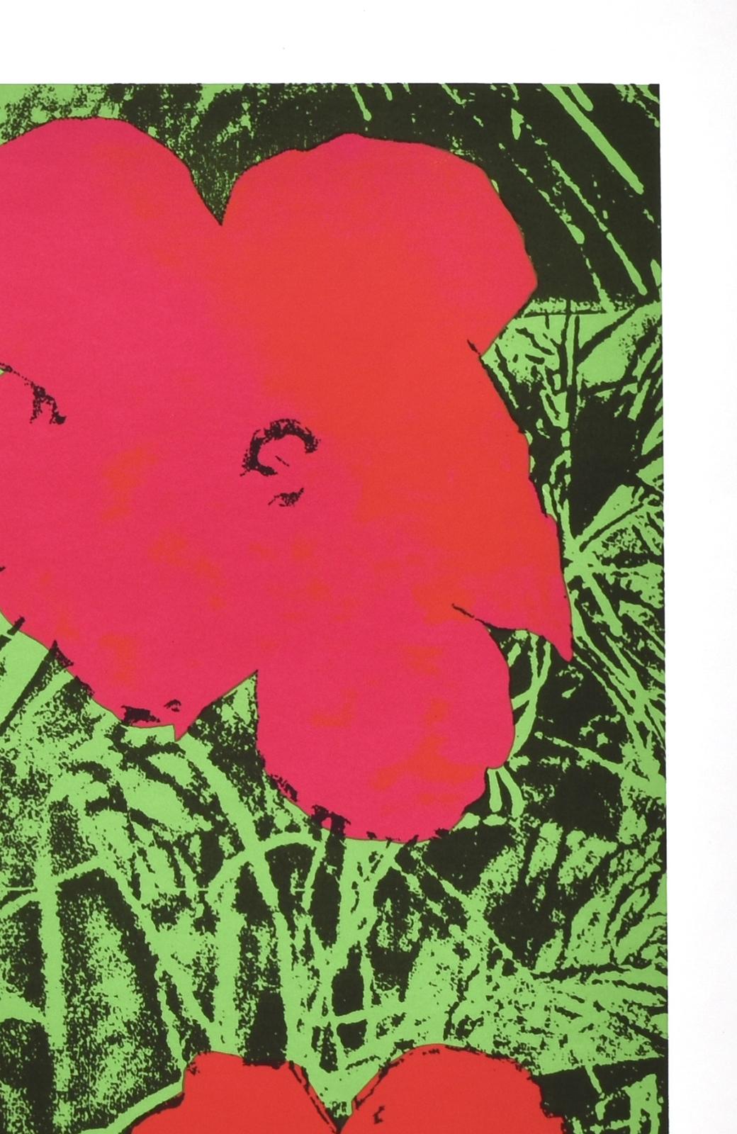 haco! 【アート】アンディ・ウォーホル  「Flower red」 <その他>の商品写真3