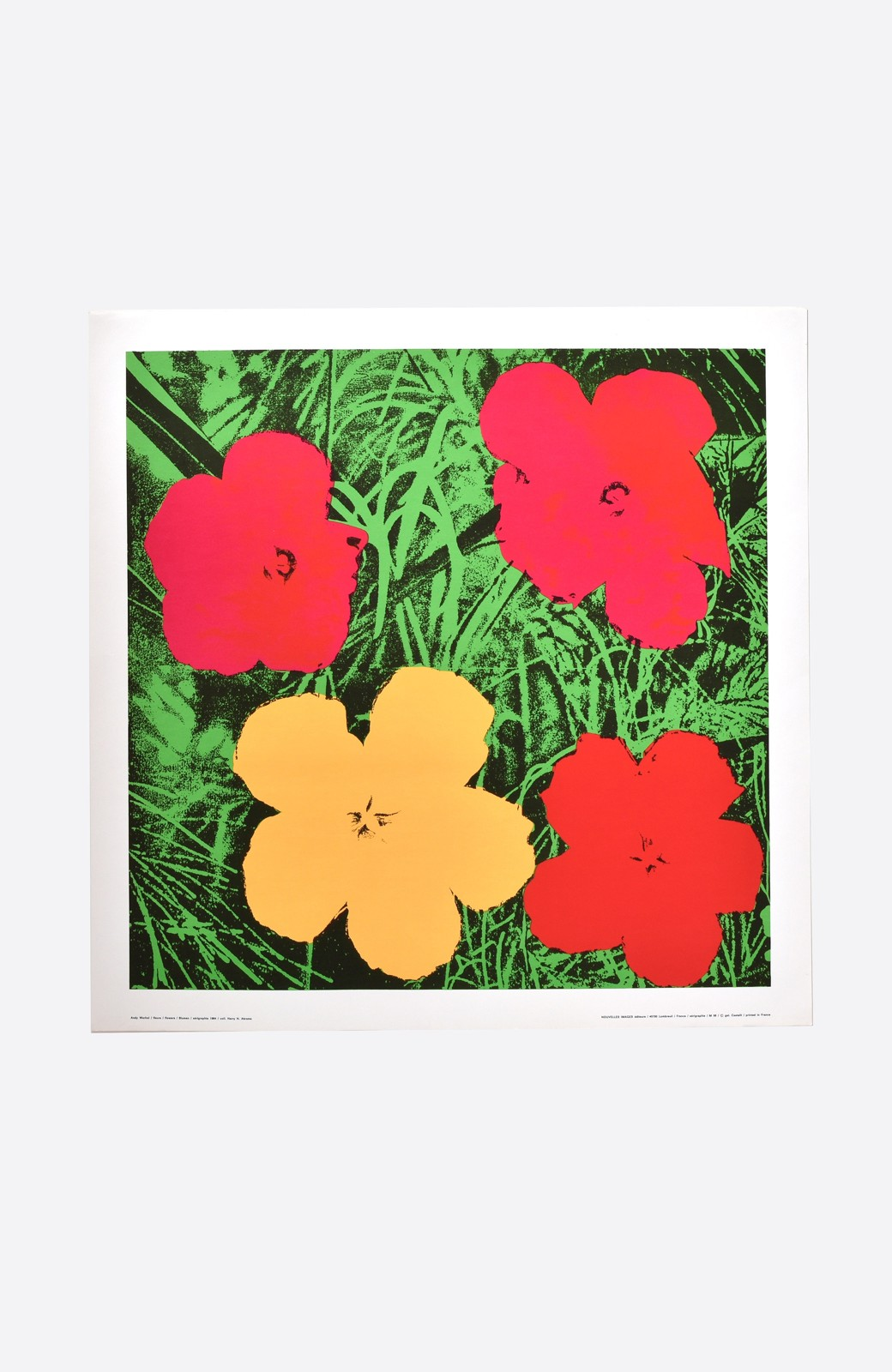 haco! 【アート】アンディ・ウォーホル  「Flower red」 <その他>の商品写真1