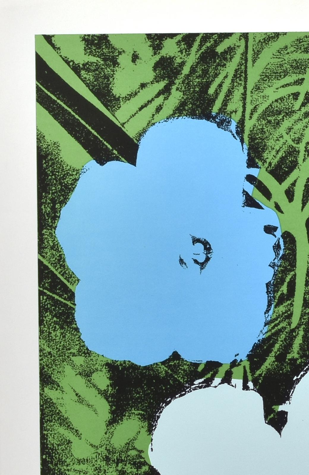 haco! 【アート】アンディ・ウォーホル  「Flower blue」 <その他>の商品写真2