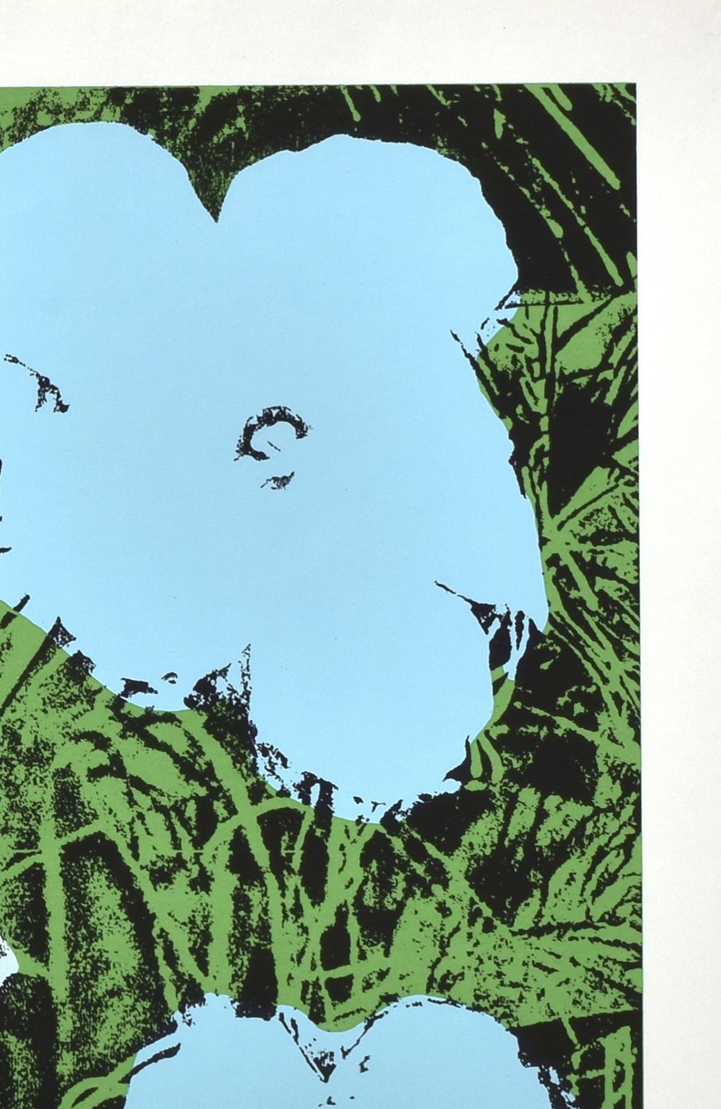 haco! 【アート】アンディ・ウォーホル  「Flower blue」 <その他>の商品写真3
