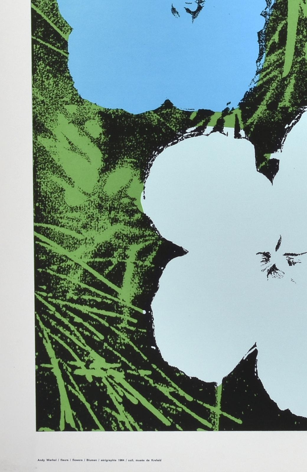 haco! 【アート】アンディ・ウォーホル  「Flower blue」 <その他>の商品写真4