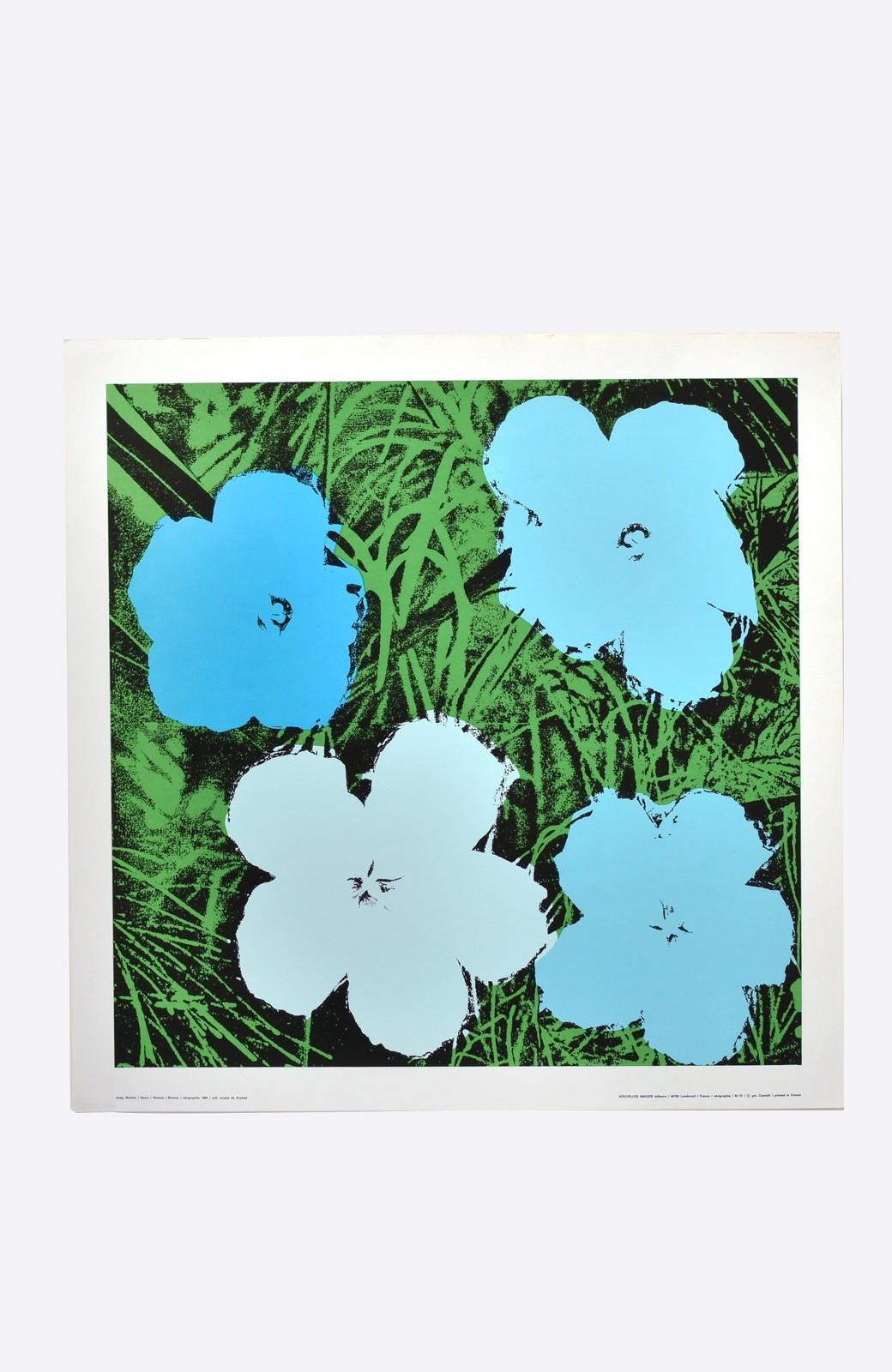 haco! 【アート】アンディ・ウォーホル  「Flower blue」 <その他>の商品写真1