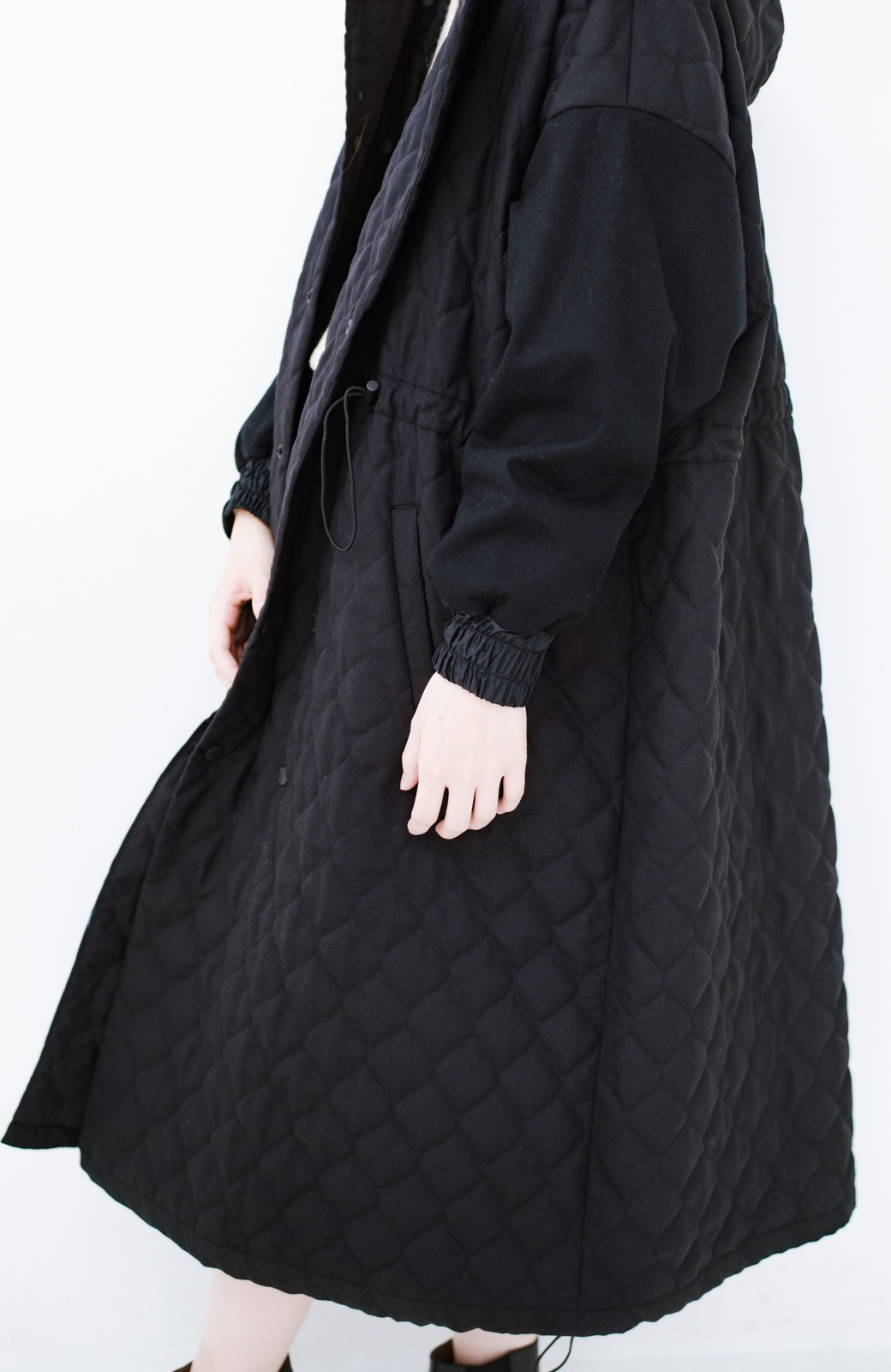 haco! F/CE. (エフシーイー)PRIMALOFT COACH LONG JK <ブラック>の商品写真6