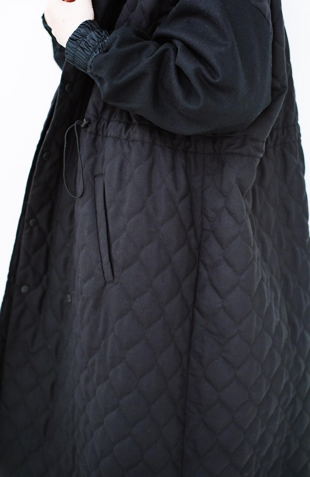 haco! F/CE. (エフシーイー)PRIMALOFT COACH LONG JK <ブラック>の商品写真8