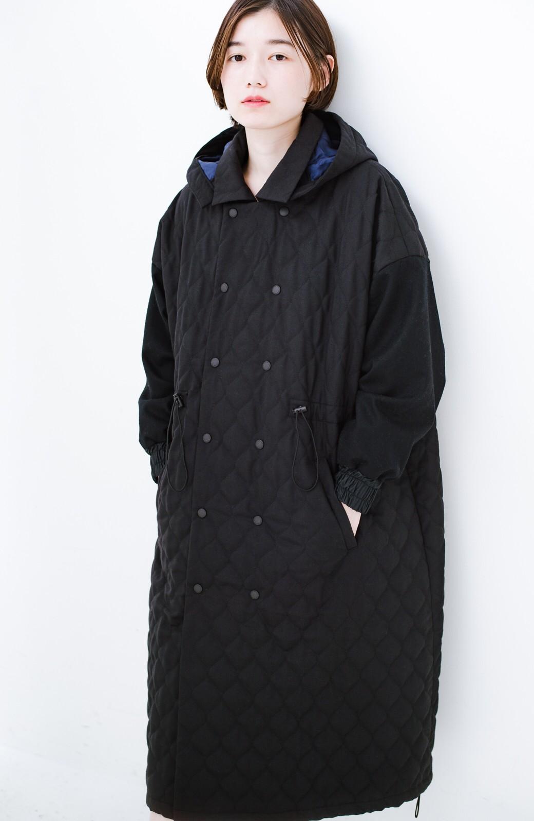 haco! F/CE. (エフシーイー)PRIMALOFT COACH LONG JK <ブラック>の商品写真2