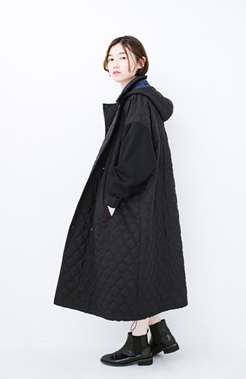 haco! F/CE. (エフシーイー)PRIMALOFT COACH LONG JK <ブラック>の商品写真