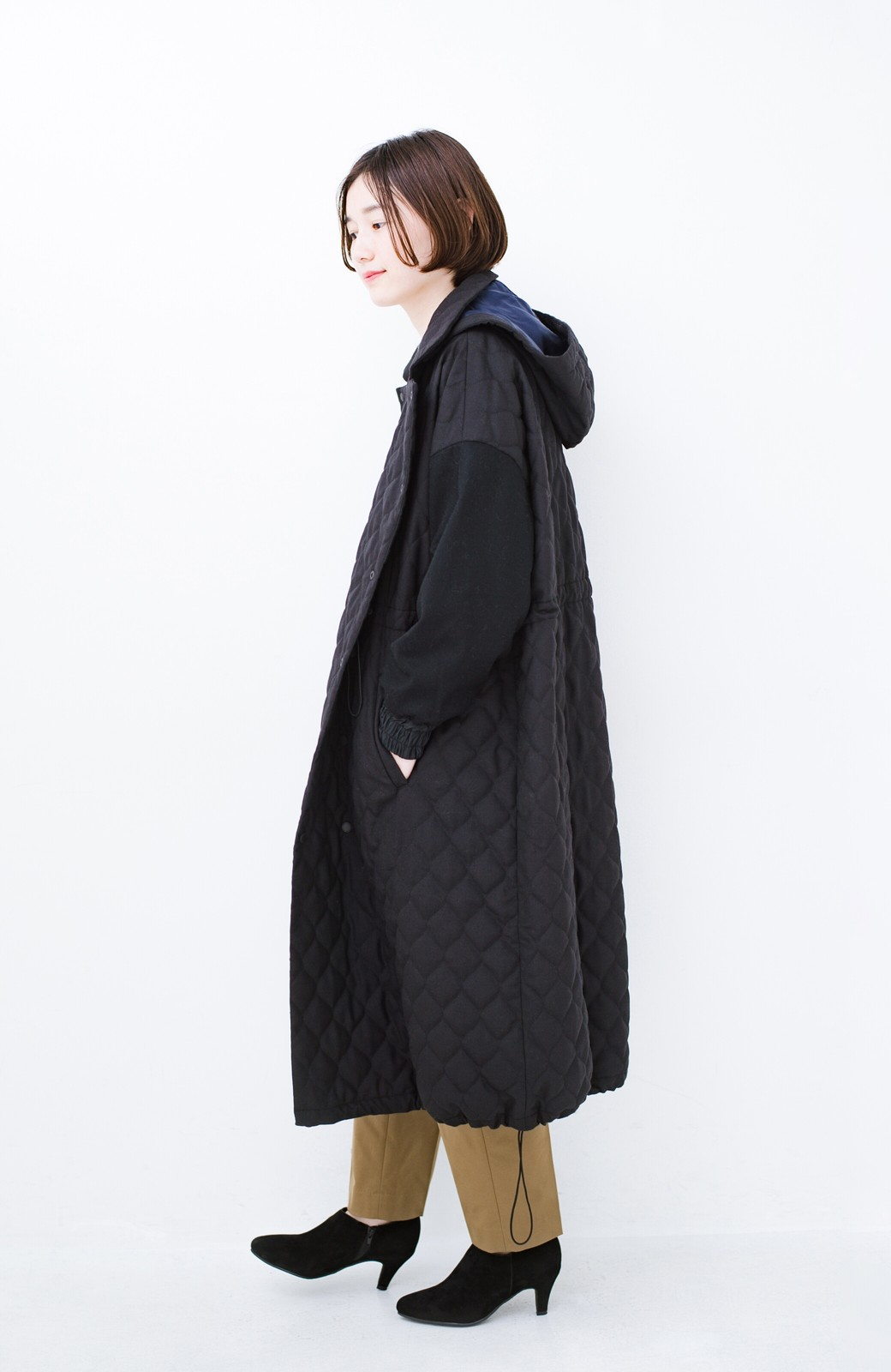 haco! F/CE. (エフシーイー)PRIMALOFT COACH LONG JK <ブラック>の商品写真16