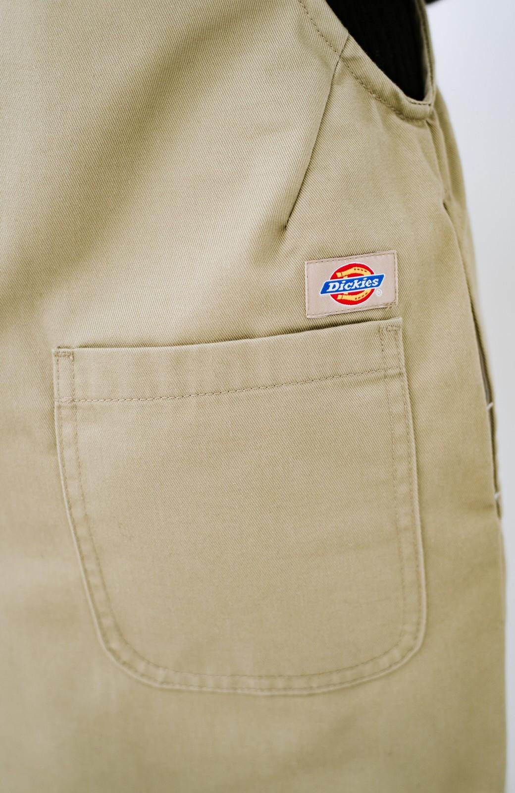 haco! Dickies TCツイルオーバーオールスカート <ベージュ>の商品写真6