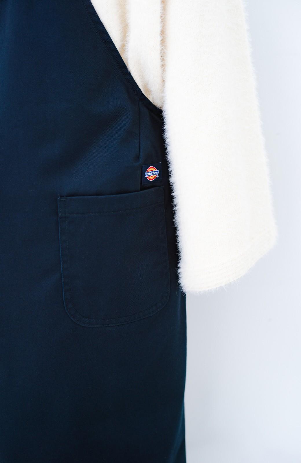 haco! Dickies TCツイルオーバーオールスカート <ネイビー>の商品写真4