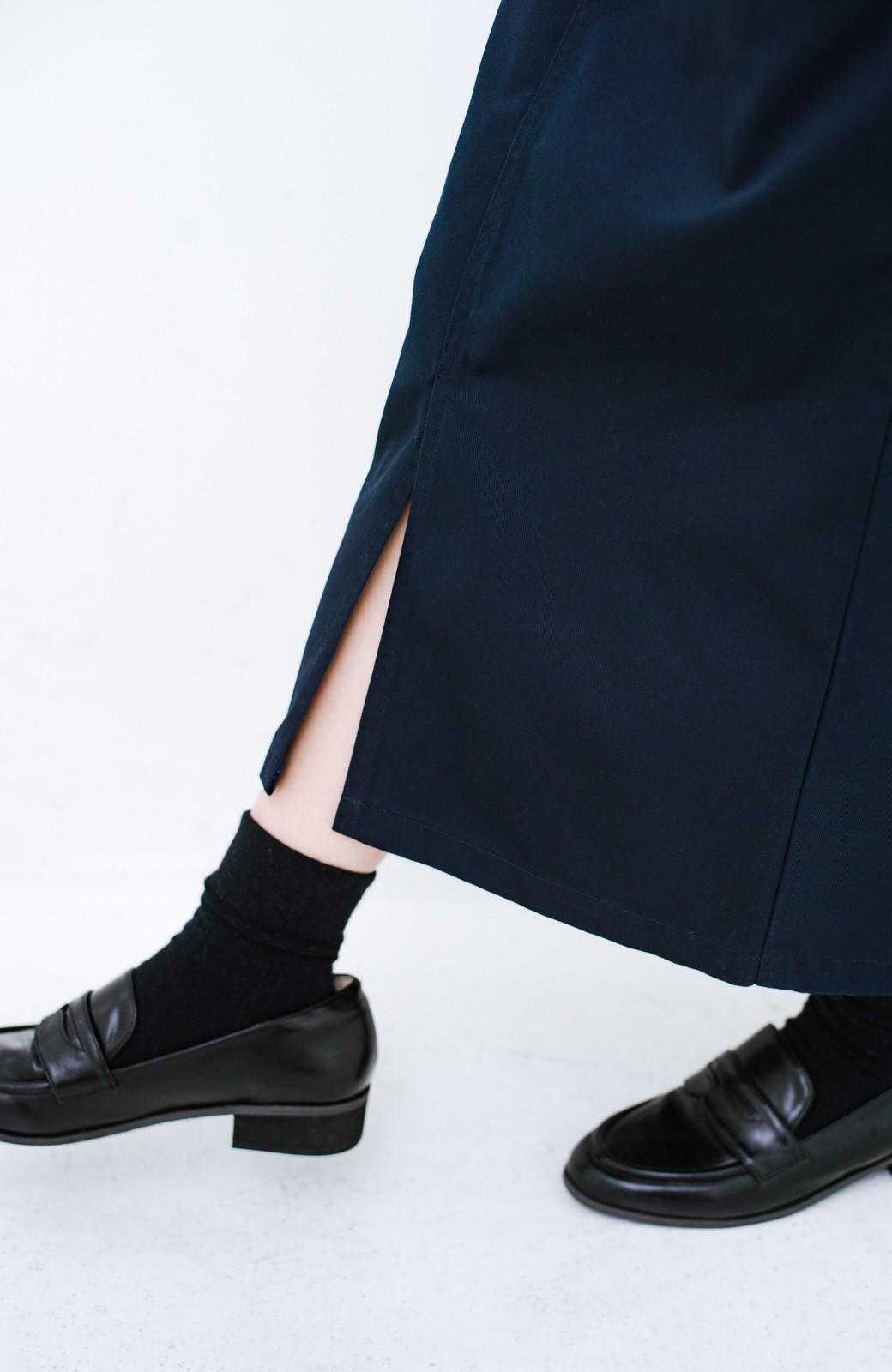 haco! Dickies TCツイルオーバーオールスカート <ネイビー>の商品写真5