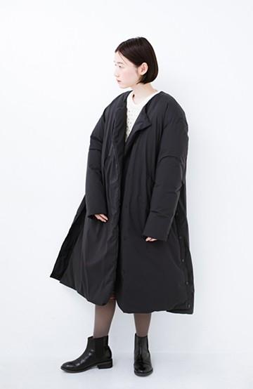 haco! F/CE.(エフシーイー) ×NANGA FT LONG DOWN COAT WM <ブラック>の商品写真