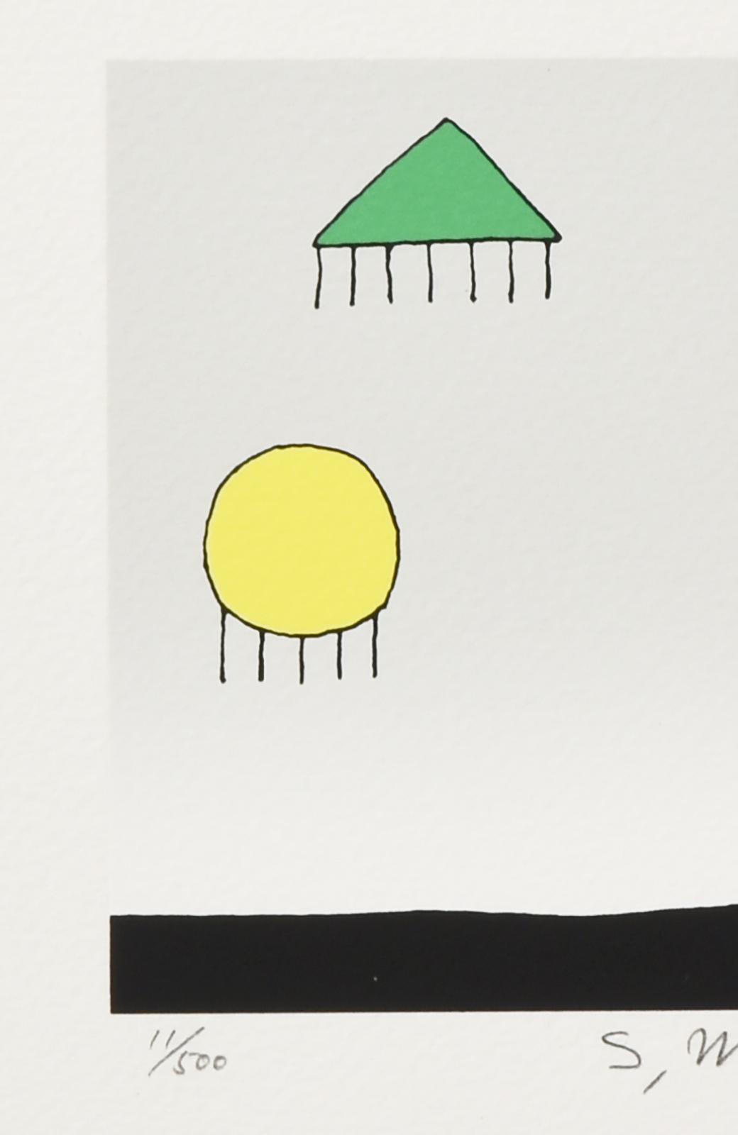 haco! 【アート】元永 定正  「みどりさんかくまるしかく」 <その他>の商品写真2