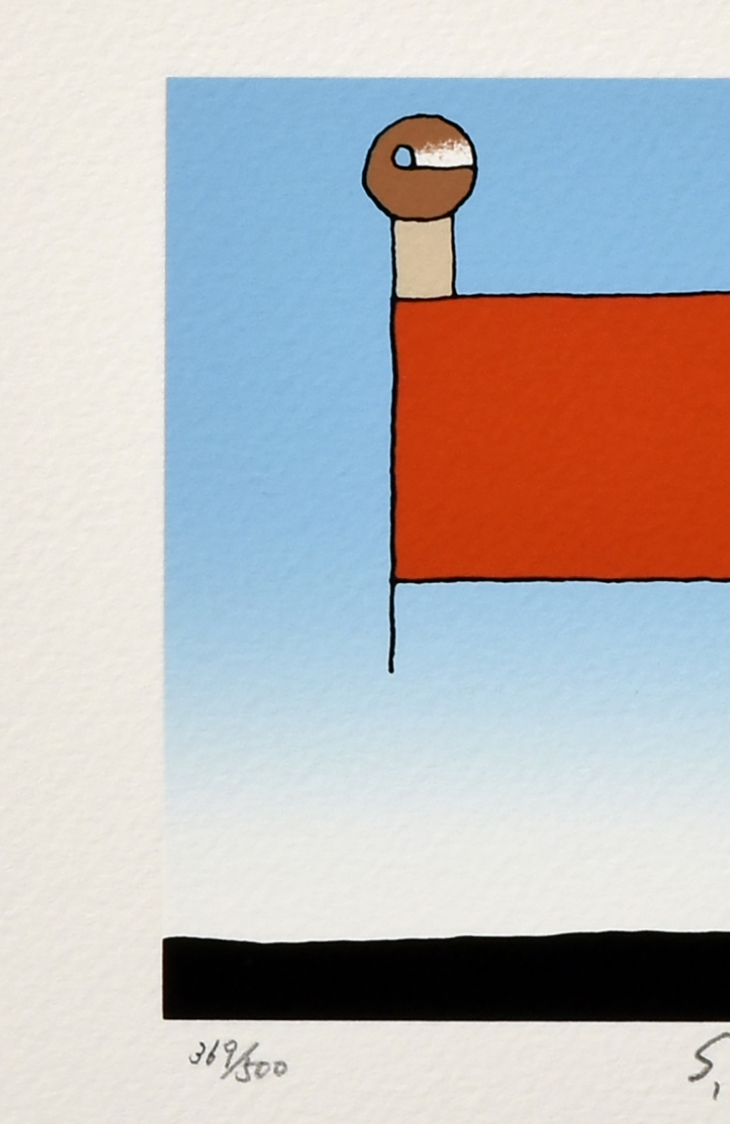 haco! 【アート】元永 定正  「あかいしかくのうえはふたつ」 <その他>の商品写真2