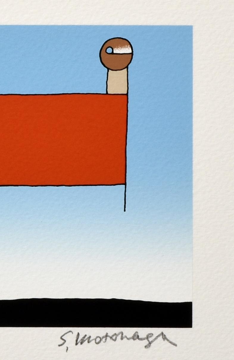 haco! 【アート】元永 定正  「あかいしかくのうえはふたつ」 <その他>の商品写真3