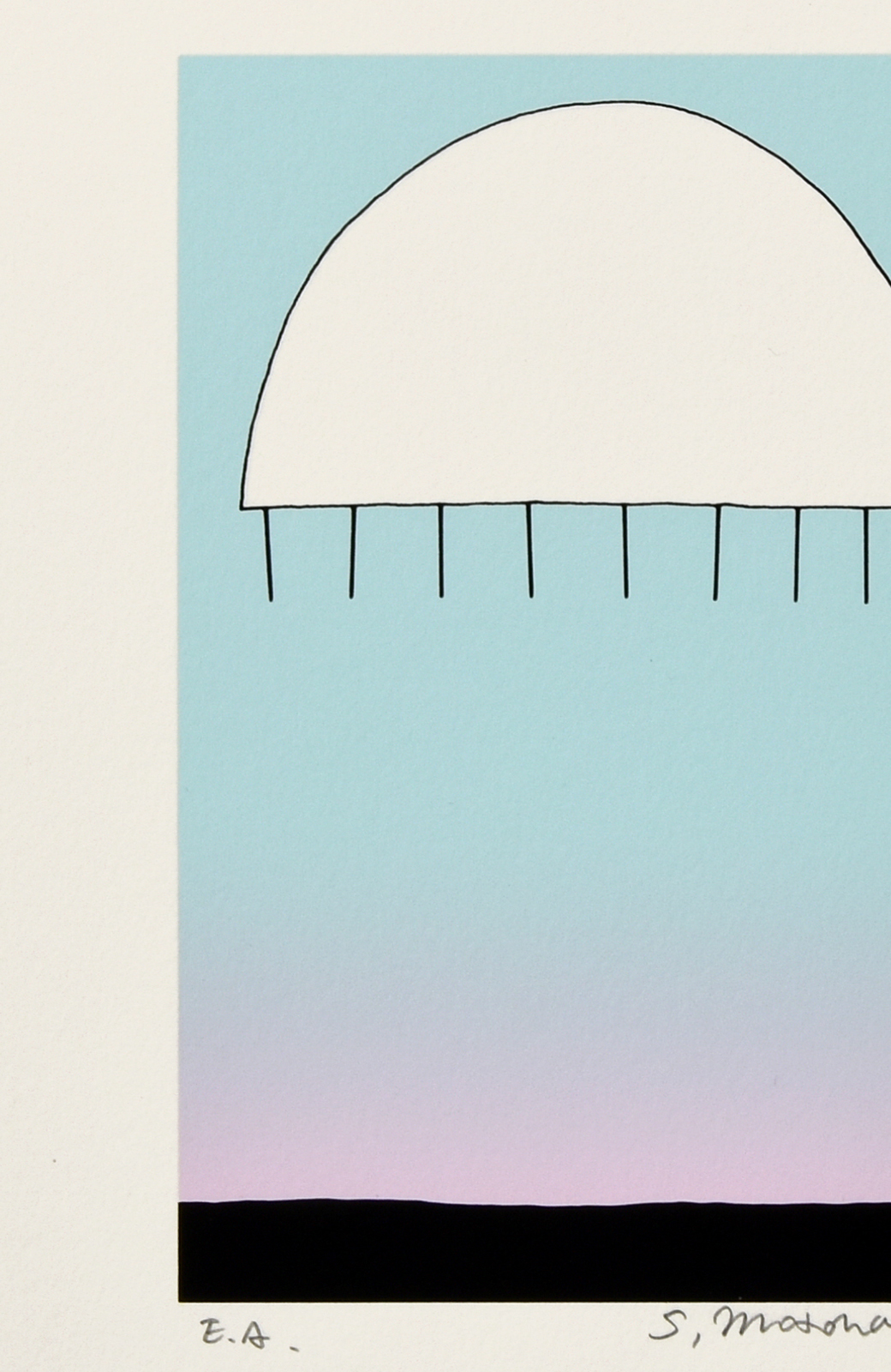 haco! 【アート】元永 定正  「しろいはんまる」 <その他>の商品写真2
