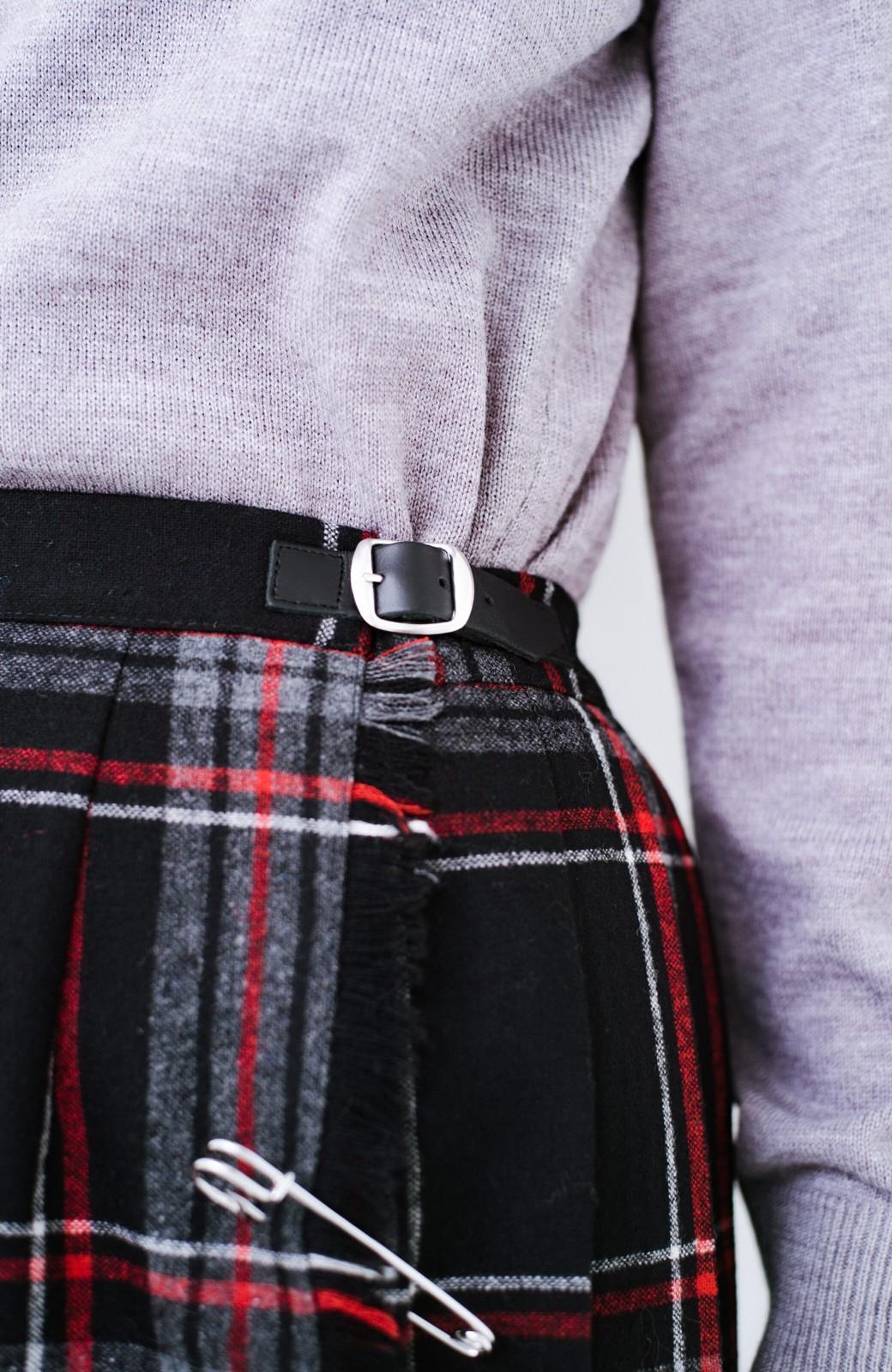 haco! O'NEIL of DUBLIN チェックスカート  <ブラック系その他>の商品写真5