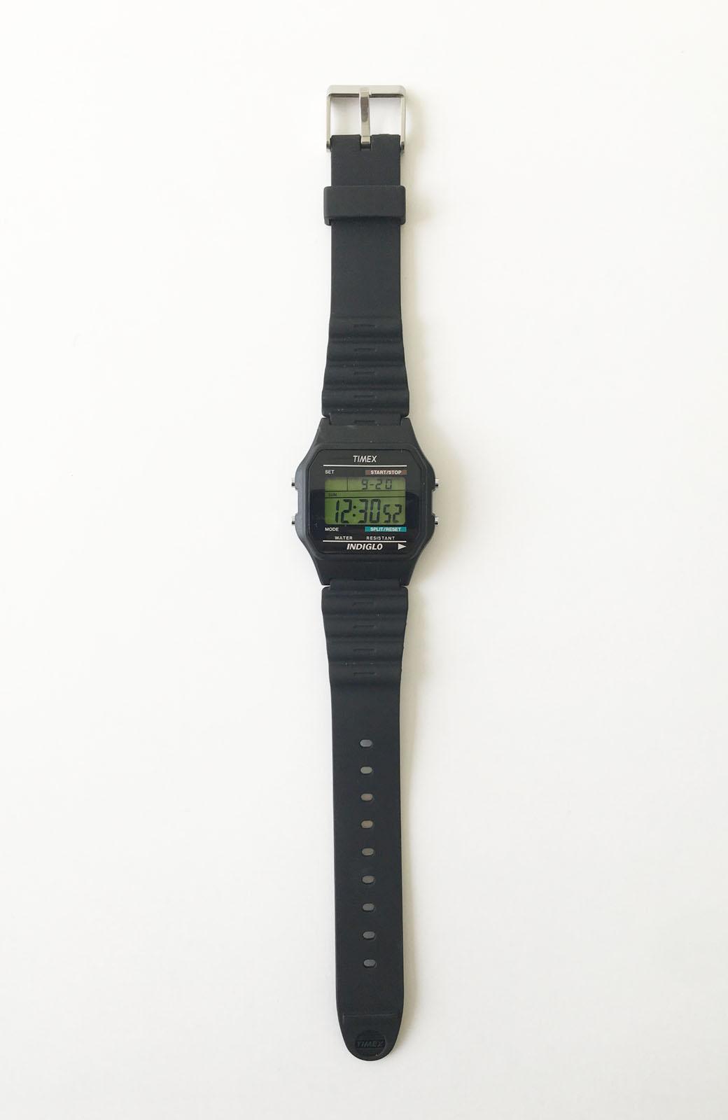 haco! TIMEX クラシックデジタル <ブラック>の商品写真2